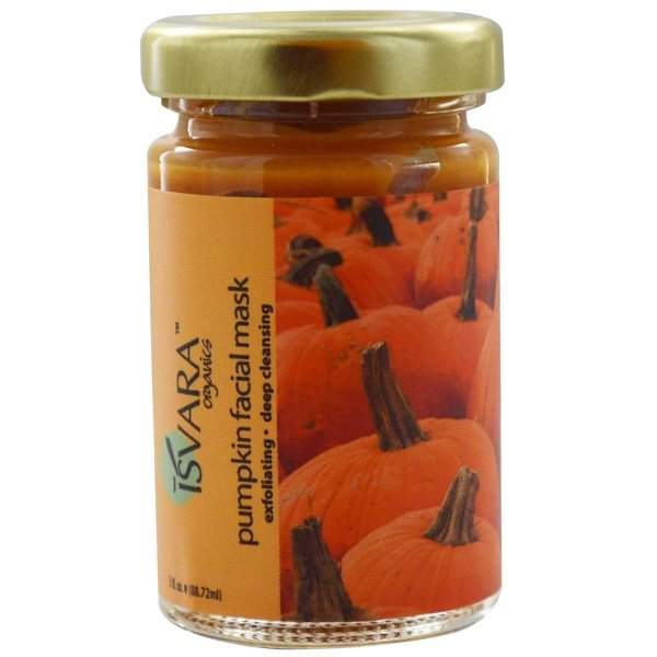 Isvara Organics, Pumpkin Facial Mask, 3 fl oz (88.72 ml) (Discontinued Item)