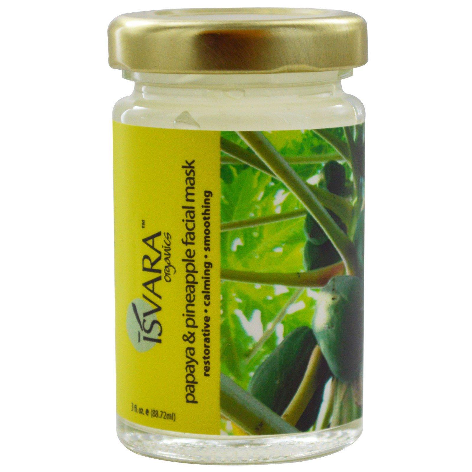 Isvara Organics, Clear Skin Facial Mask, 3 fl oz ((pack of 4) Elaine Gregg Dermaclenz Liquid Cleanser