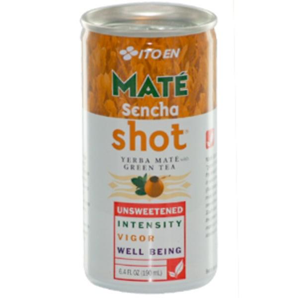 Ito En, Mate Sencha Shot, Yerba Mate with Green Tea, 30 Cans, 6.4 fl oz (190 ml) Each (Discontinued Item)