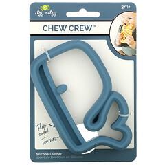 Itzy Ritzy, Chew Crew,矽膠牙膠,3 個月以上,鯨魚,1 個