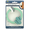 Itzy Ritzy, Ritzy Rattle, Silicone Teether with Rattle, 3+ Months, Cactus, 1 Teether