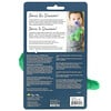 Itzy Ritzy, Sweetie Pal, Silicone Pacifier and Plush Pacifier Lovey, 0+ Months, Dino, 2 Piece Set