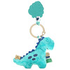 Itzy Ritzy, Itzy Pal, Plush Pal with Silicone Teether, 0+ Months, James The Dinosaur, 1 Teether