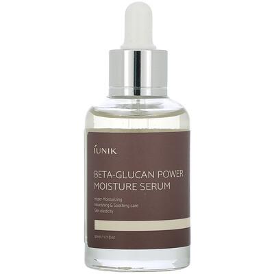 Купить IUNIK Beta-Glucan Power Moisture Serum, 1.71 fl oz (50 ml)