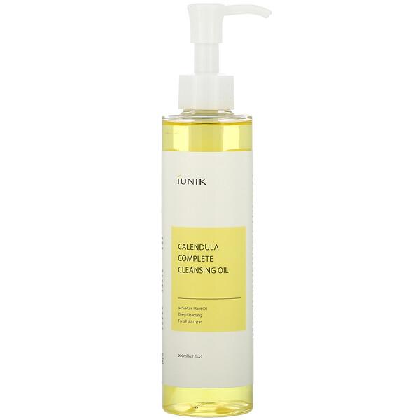 iUNIK, Calendula Complete Cleansing Oil, 6.7 fl oz (200 ml)