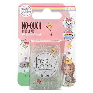 Invisibobble, Kids, No Ouch Hair Ring, Princess Sparkle, 5 Pack
