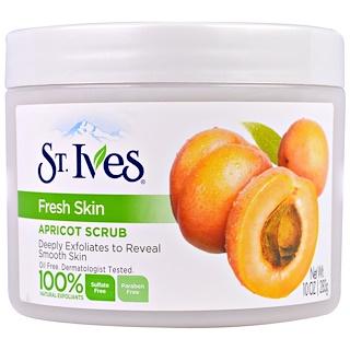 St. Ives, Fresh Skin, Apricot Scrub, 10 oz (283 g)