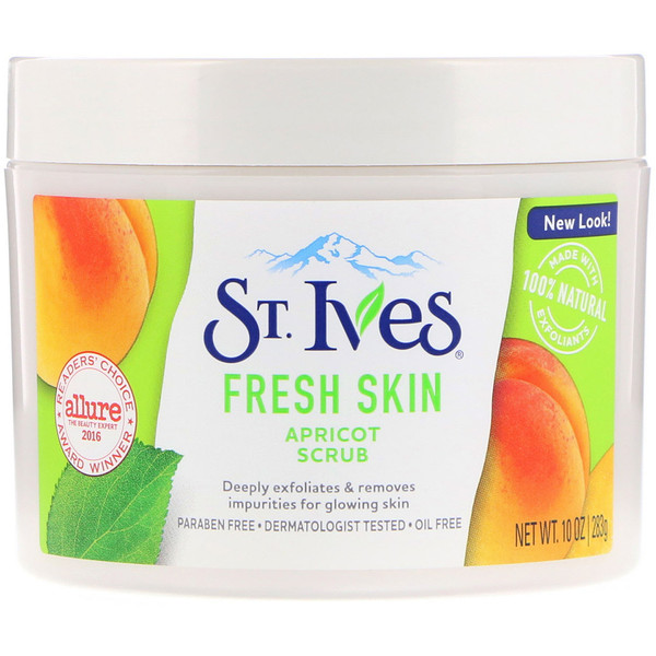 St. Ives, Fresh Skin, Apricot Scrub, 10 oz (283 g) (Discontinued Item)