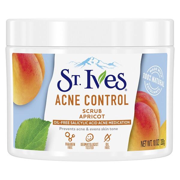 St. Ives, Acne Control Apricot Scrub, 10 oz (283 g)