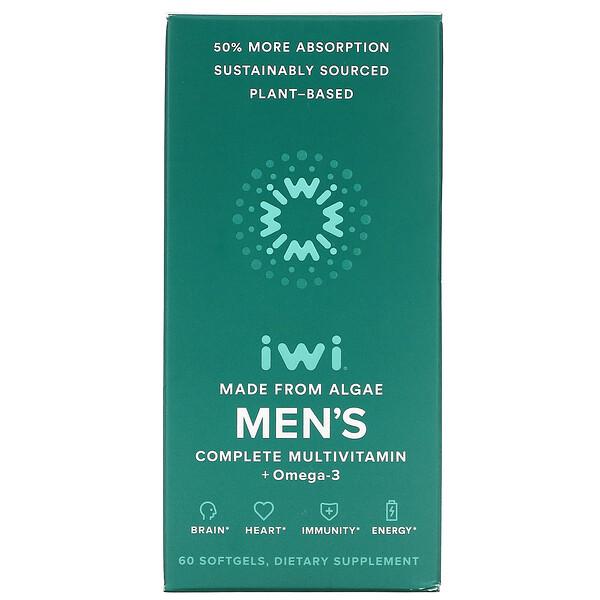 Men's Complete Multivitamin + Omega-3, 60 Softgels