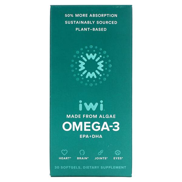 Omega-3, EPA + DHA, 30 Softgels