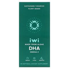 iWi, 歐米伽-3 DHA,60 粒軟凝膠