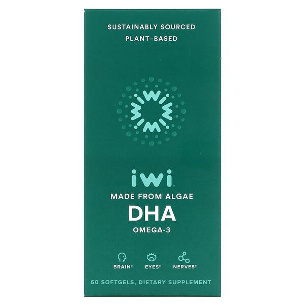 Omega-3 DHA, 60 Softgels