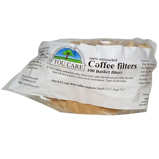 If You Care, Coffee Filters, 100 Basket Filters