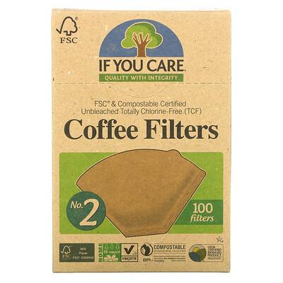 If You Care Фильтры для кофе, размер № 2, 100 фильтров