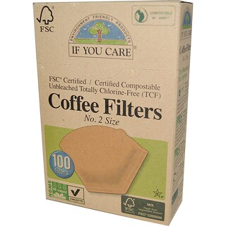 If You Care, Coffee Filters, No. 2 Size, 100 Filters