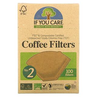 If You Care, فلاتر القهوة، حجم 2، 100 فلاتر