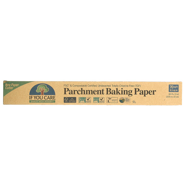 Parchment Baking Paper, 70 sq ft (65 ft x 13 in)