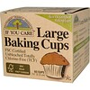 If You Care, Large Baking Cups, 60  Cups, 2 1/2 in (6.35 cm) Each (Discontinued Item)