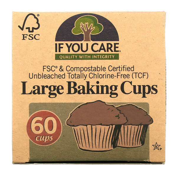 Large Baking Cups, 60  Cups