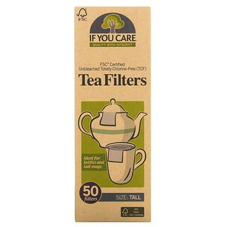If You Care, Tea Filters, Tall, 50 Filters