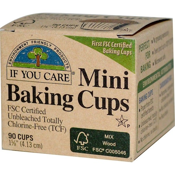 If You Care, Mini Baking Cups, 90 Cups, 1 5/8 in. (4.13 cm) Each (Discontinued Item)