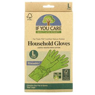 If You Care, قفازات الأشغال المنزلية، قابلة لإعادة استعمالها، واسعة، غراموج 1
