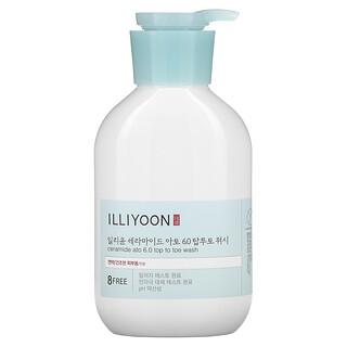Illiyoon, Ceramide Ato 6.0 Top To Toe Wash, 16.9 fl oz (500 ml)