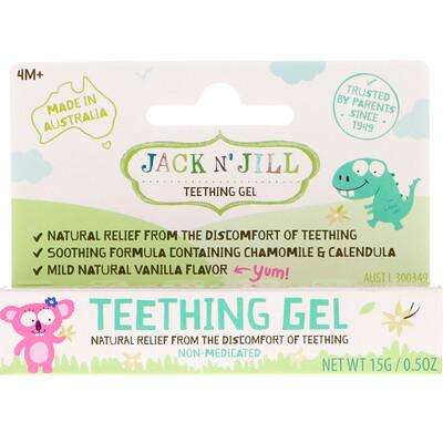 Купить Jack n' Jill гель для прорезывания зубов, от 4месяцев, 15г (0, 5унции)