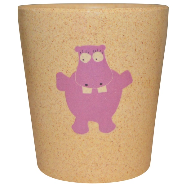 Jack n' Jill, Storage/Rinse Cup, Hippo, 1 Cup (Discontinued Item)
