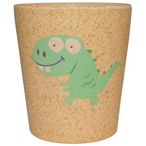 Jack n' Jill, Чашка для хранения и полоскания, Дино, 1 чашка