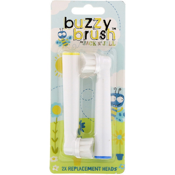 Buzzy Brush, 2X Replacement Heads