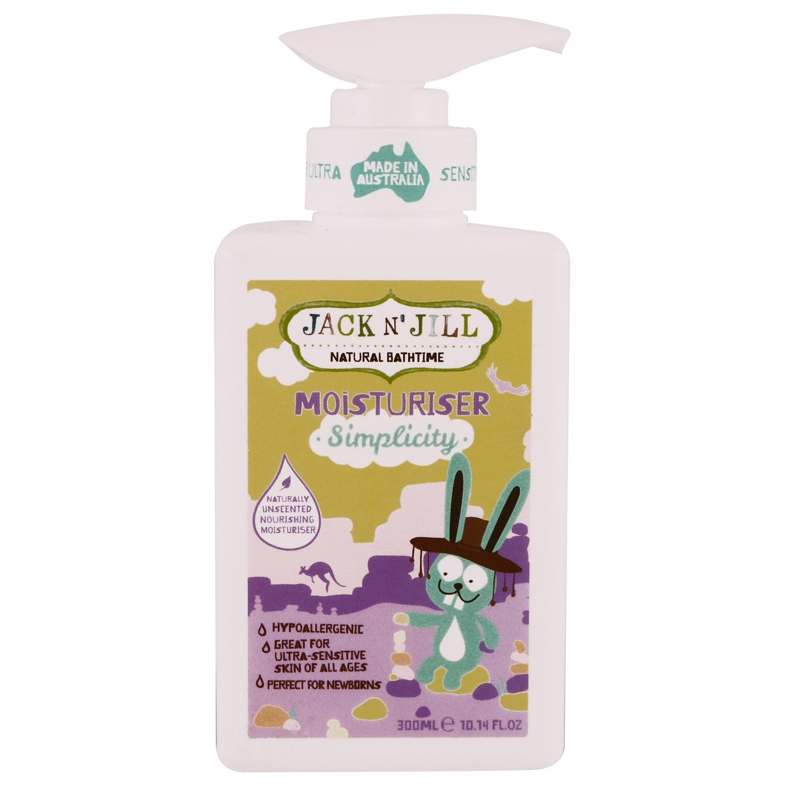 Jack N Jill Beauty Day Cream Natural Bathtime Moisturizer Simplicity 1014 Fl Oz