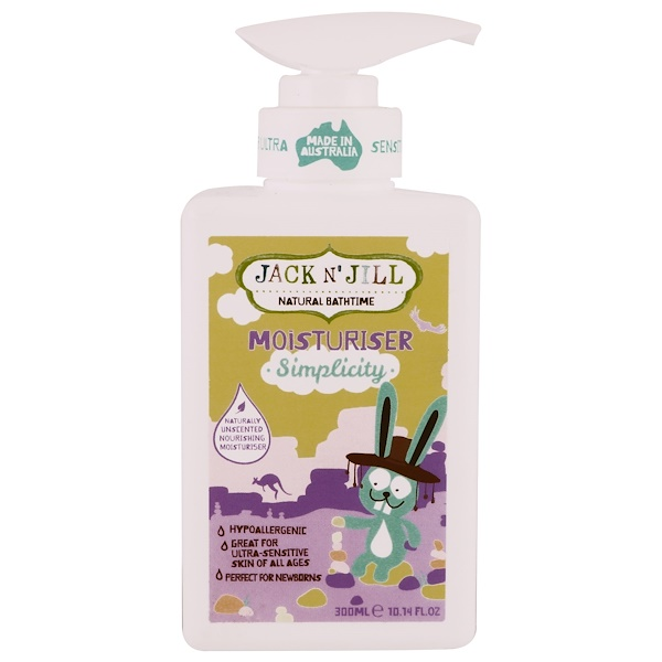 Jack n' Jill, Natural Bathtime, Moisturizer, Simplicity, 10.14 fl oz (300 ml) (Discontinued Item)
