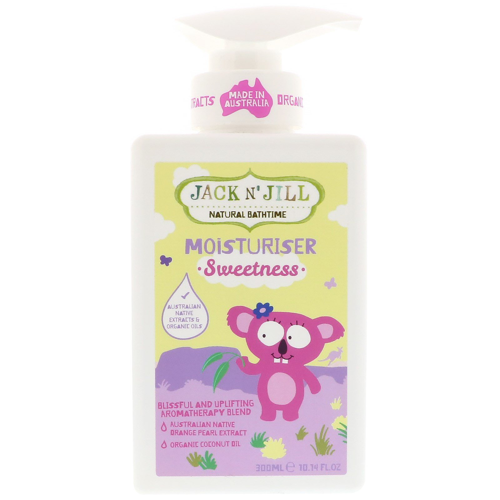 Jack n' Jill, Natural Bathtime, Moisturizer, Sweetness, 10.14 oz (300 ml)