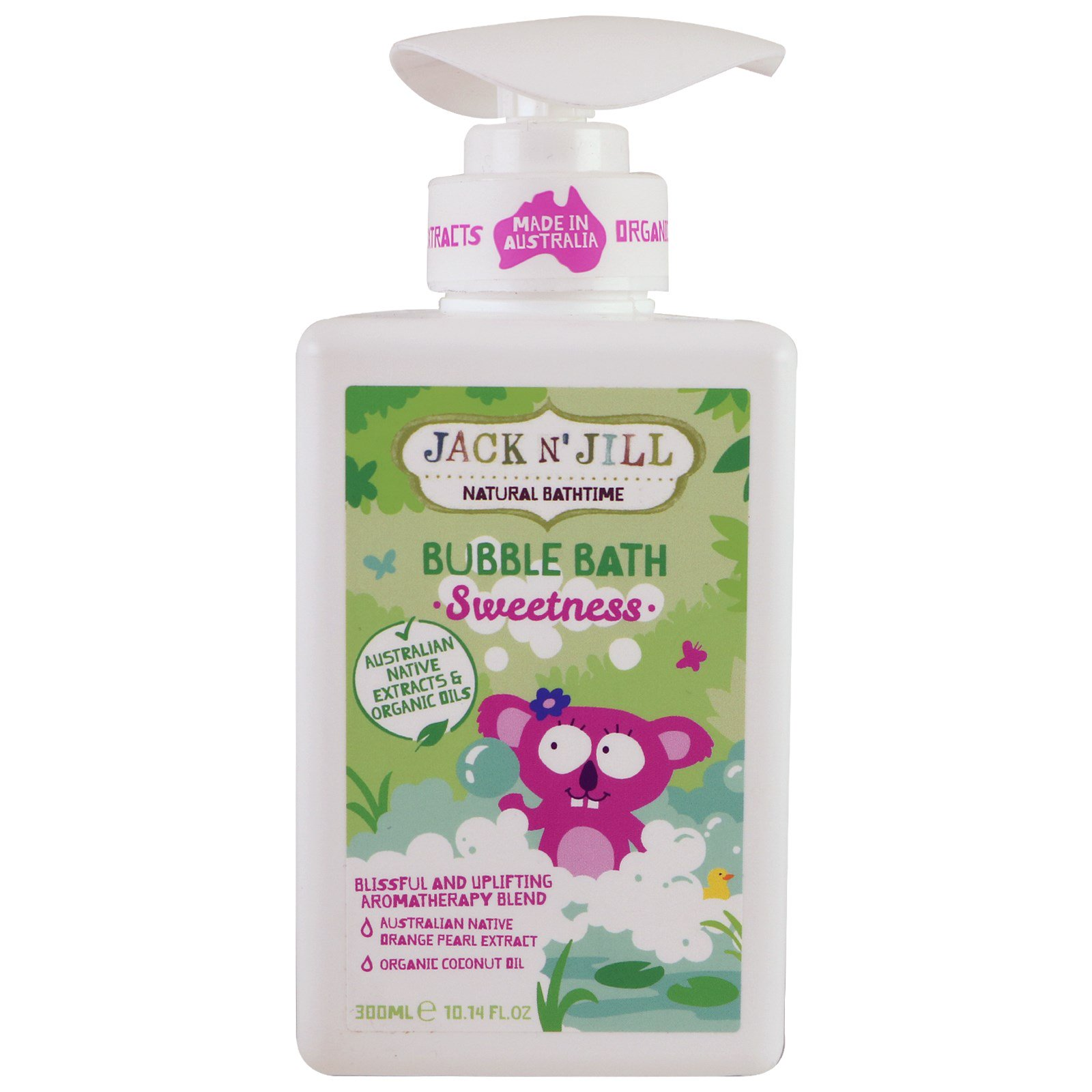Jack n' Jill, Bubble Bath, Sweetness, 10.14 fl. oz (300 ml)
