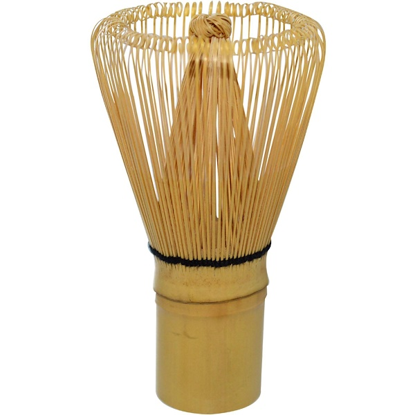 Just a Leaf Organic Tea, Hand Held Bamboo Tea Whisk for Matcha Tea (Discontinued Item)