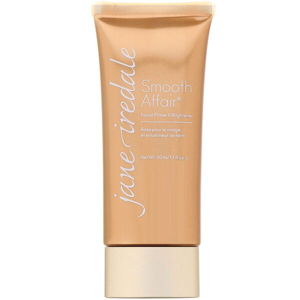 Jane Iredale, Smooth Affair, Facial Primer & Brightener, 1.7 fl oz (50 ml)