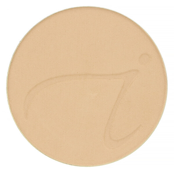 Jane Iredale, PurePressed Base, Mineral Foundation Refill, SPF 20 PA++, Latte, 0.35 oz (9.9 g)