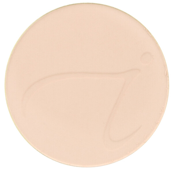 Jane Iredale, PurePressed Base, Mineral Foundation Refill, SPF 20 PA++, Light Beige, 0.35 oz (9.9 g) (Discontinued Item)