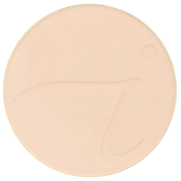 Jane Iredale, PurePressed Base, Mineral Foundation Refill, SPF 20 PA++, Natural, 0.35 oz (9.9 g) (Discontinued Item)