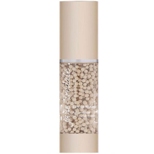 Liquid Minerals, A Foundation, Bisque, 1.01 fl oz (30 ml)