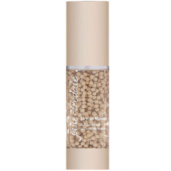Liquid Minerals, A Foundation, Warm Sienna, 1.01 fl oz (30 ml)