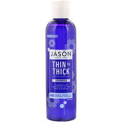 Jason Natural, Thin to Thick 蓬鬆洗髮水,8 液量盎司(237 毫升)
