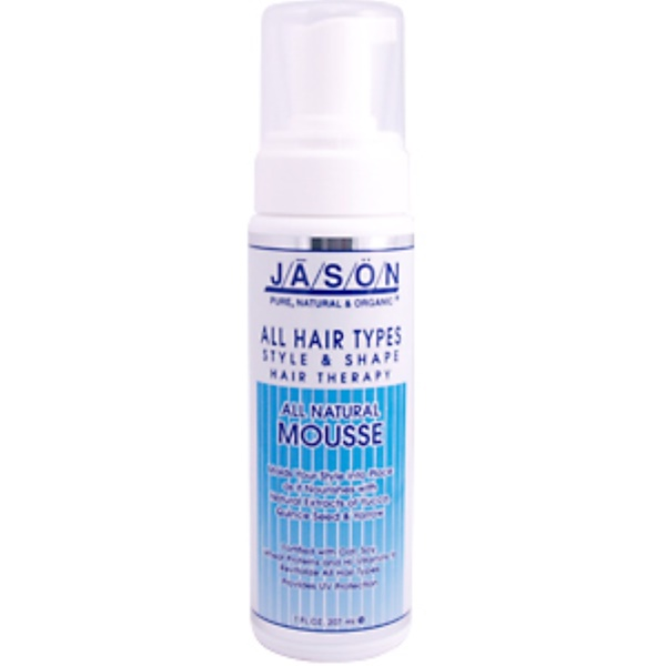 Jason Natural, All Natural Mousse, 7 fl oz (200 ml) (Discontinued Item)