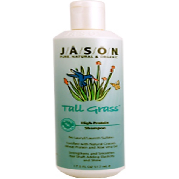 Jason Natural, Tall Grass High-Protein Shampoo, 17.5 fl oz (517 ml) (Discontinued Item)