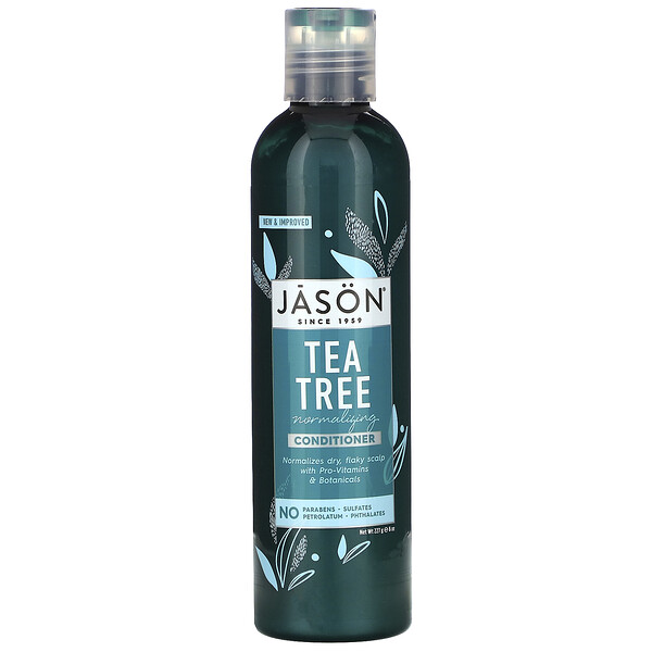 Jason Natural, Normalizing Conditioner, Tea Tree, 8 oz (227 g) (Discontinued Item)