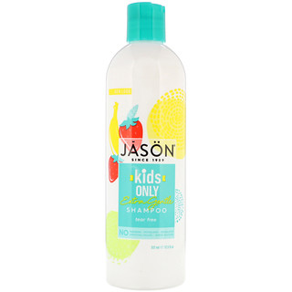 Jason Natural, Kids Only, champú extra suave, 17,5 fl oz (517 ml)