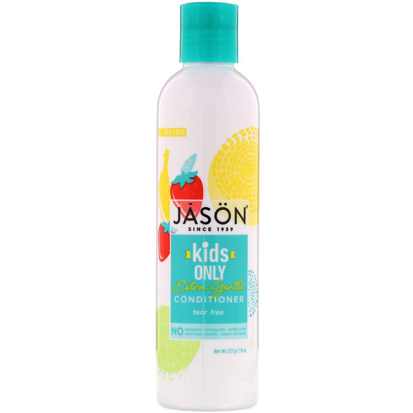 Jason Natural, Kids Only!, Extra Gentle Conditioner, 8 oz (227 g)