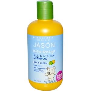 Джэйсон Нэчуралс, Kids Only!, Shampoo, Daily Clean, 8 fl oz (237 ml) отзывы